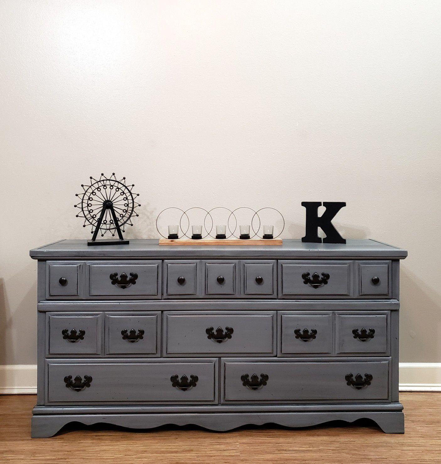 Beautiful hand painted dresser