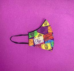 Facemask  Mexican Papel Picado  Thumbnail