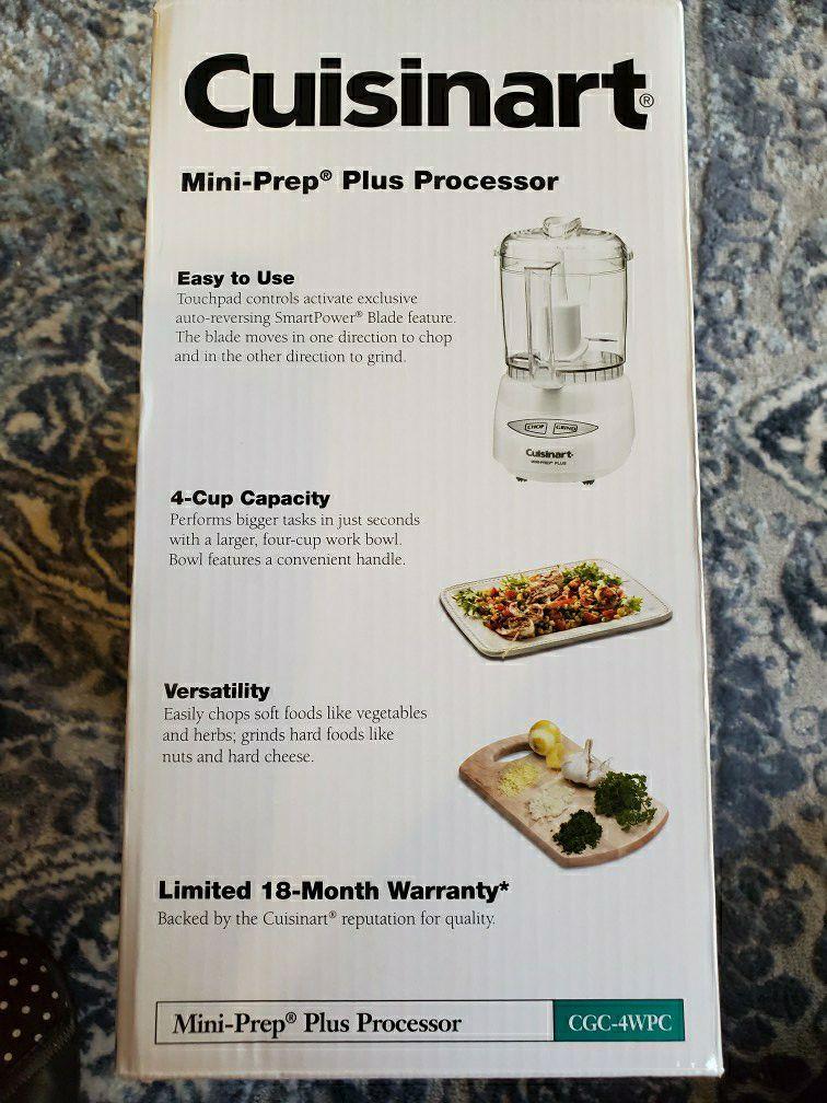 Cuisinart Mini Food Processor 4cups