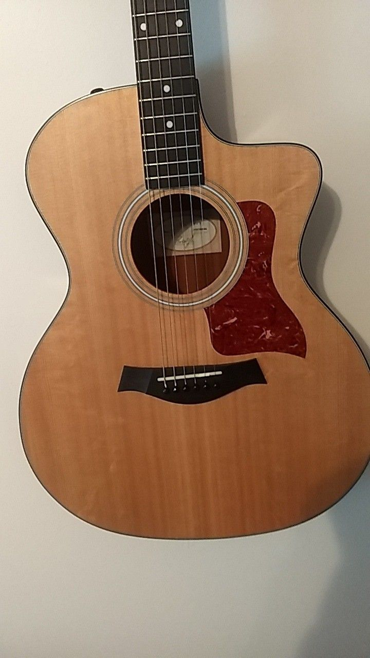 Taylor acoustic electric guitar