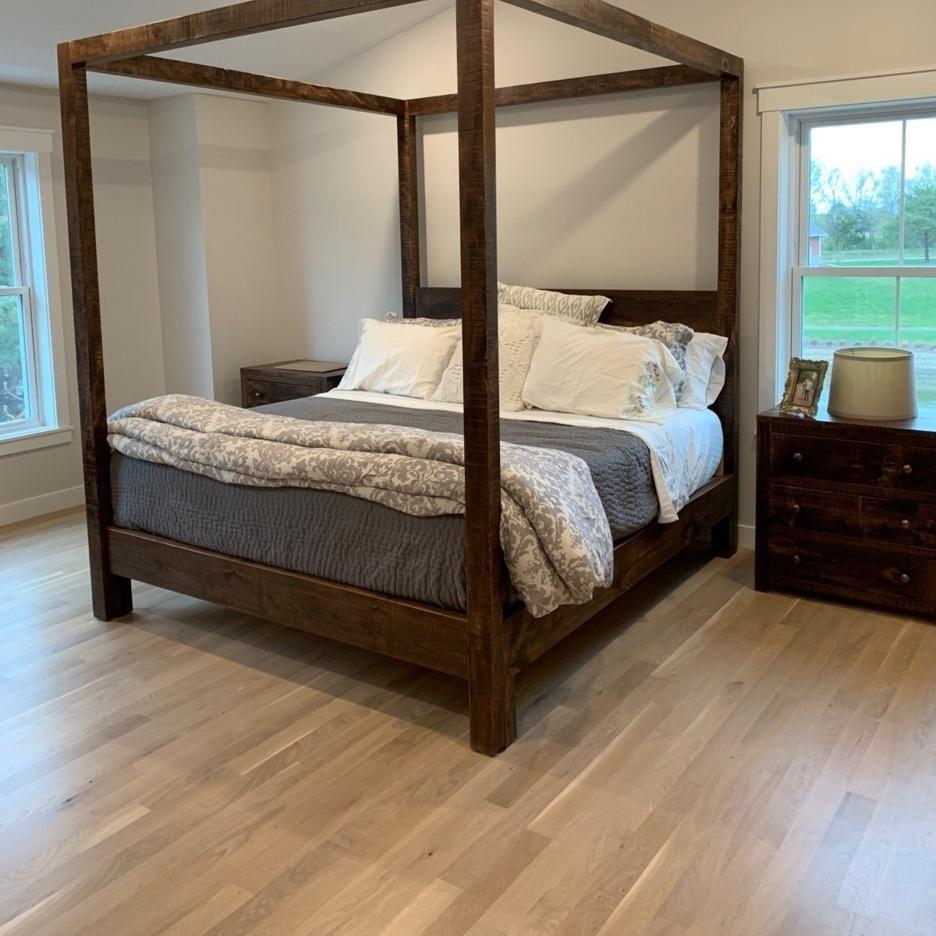 4 poster bedroom set
