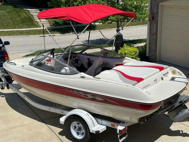 2👀6 Stingray 185 LX Boat + Trailer