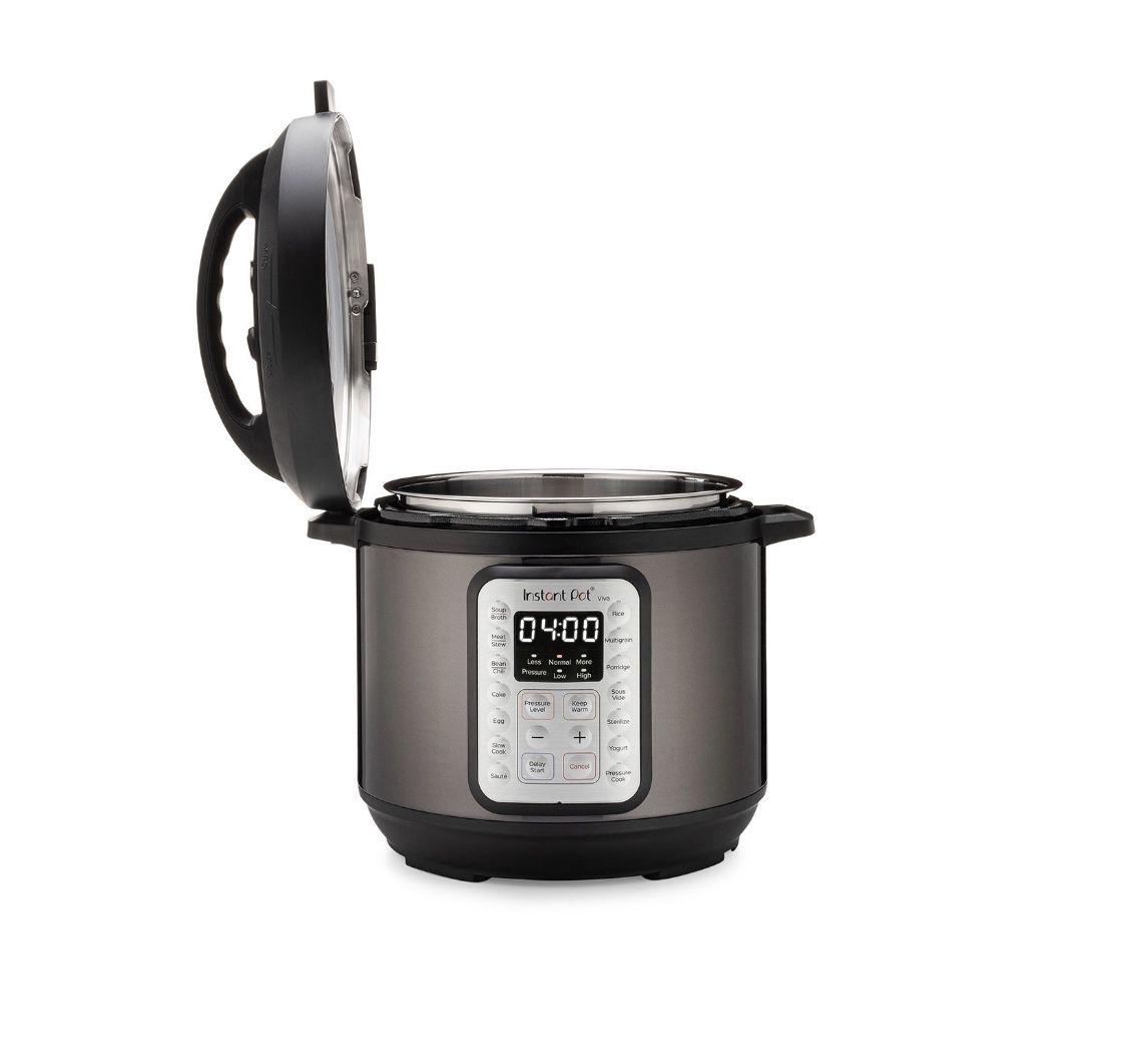 Instant Pot VIVA Black Stainless 6-Quart