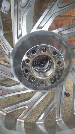 "26"" inch all chrome azara 505 Rims and tires Thumbnail"
