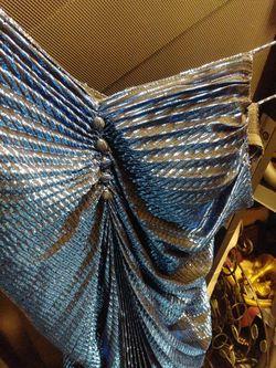 Beautiful Dress/gown Beautiful Deep Blue Thumbnail