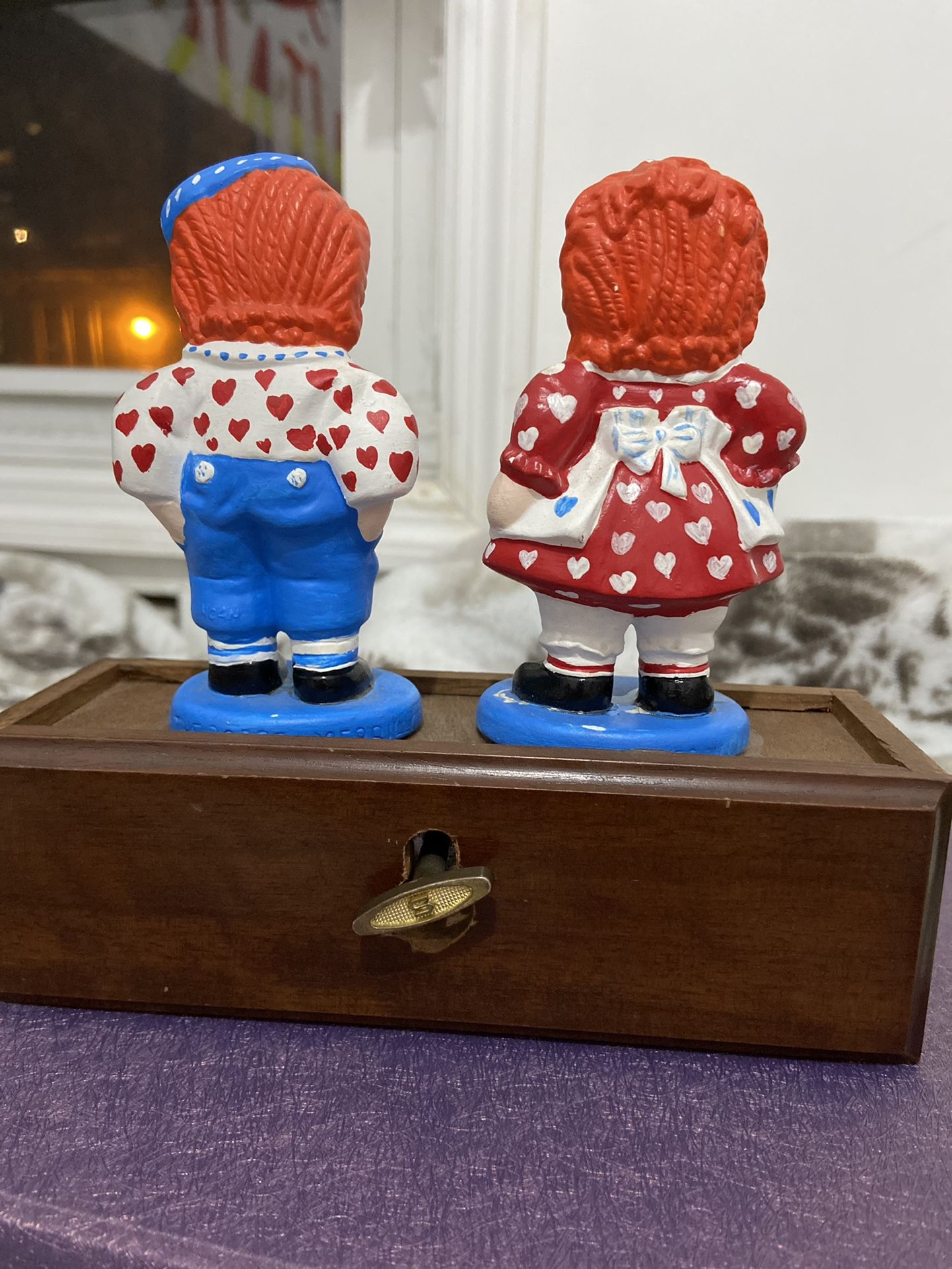 Raggedy Ann And Andy Musical Figure