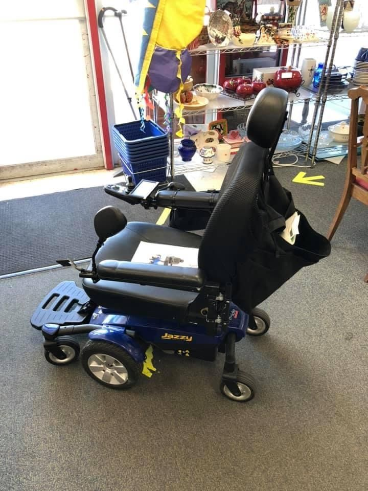 Jazzy Scooter