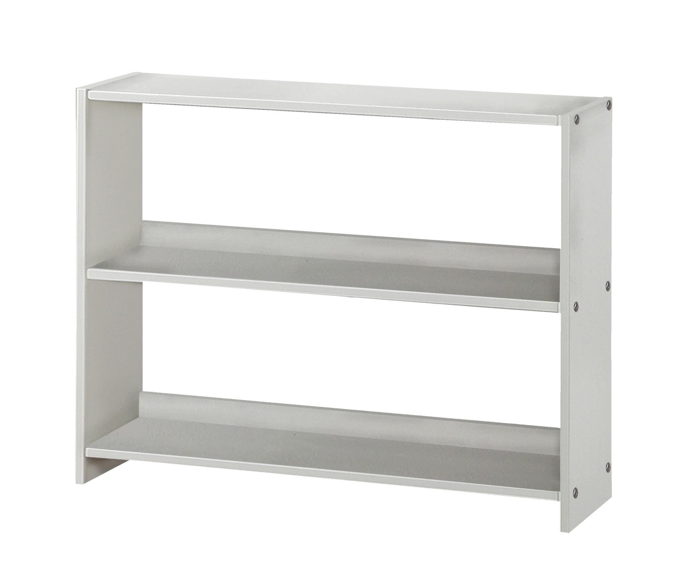 Pivot Direct Louver Bookcase In White Finish PD_795DW