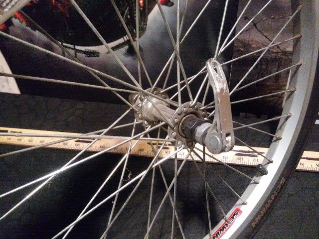 Replacement Rim Set Up For Trailer