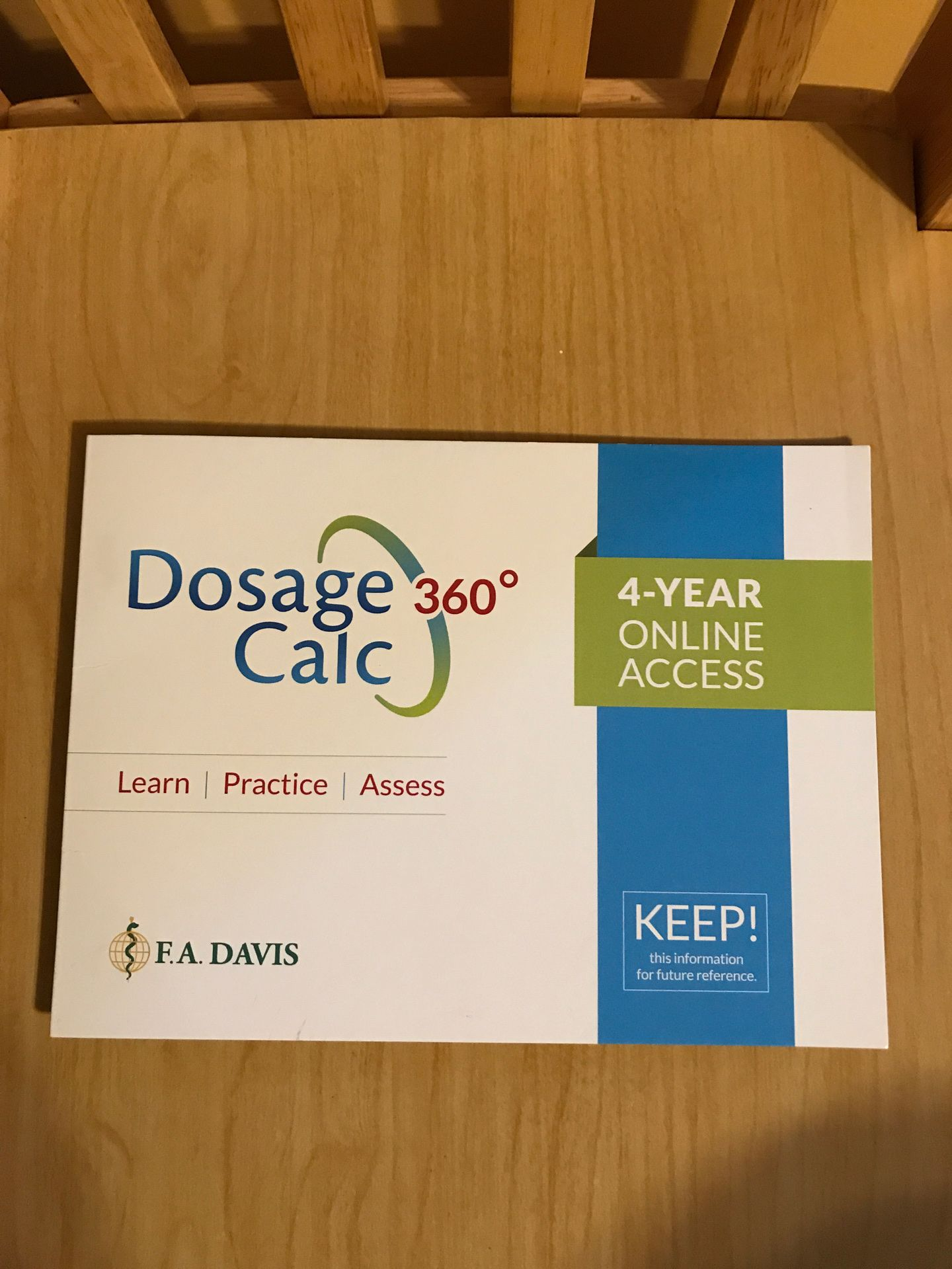 Dosage Calculator 360 - 4 year on line access