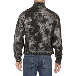 Faith Connexion Mens Jean Jacket Black Size Medium Thumbnail