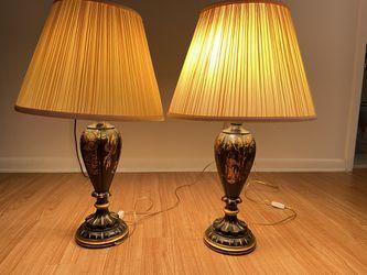 Antique japanese lamps Thumbnail