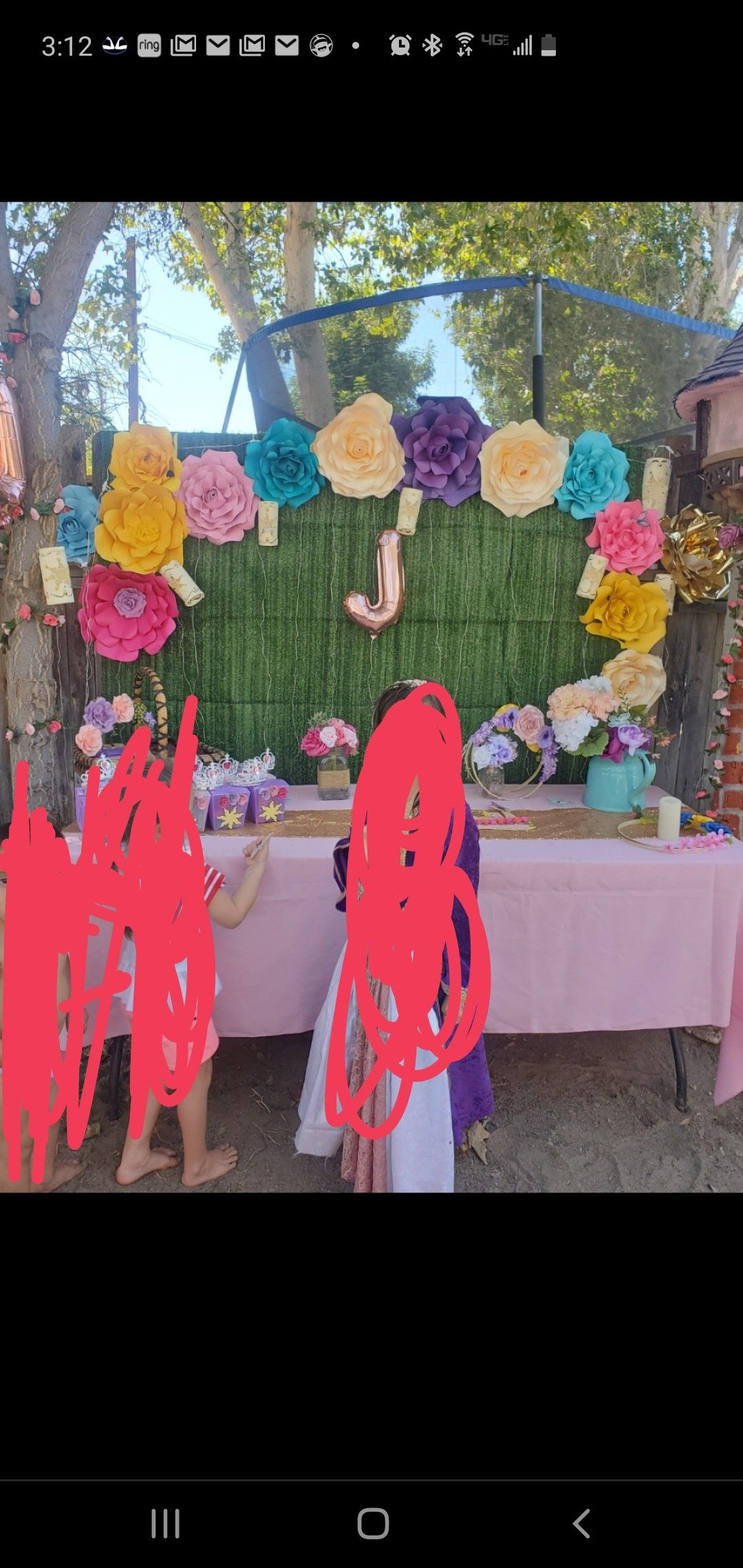Rapunzel themed party