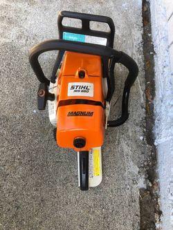 Stihl Ms660 Chainsaw Thumbnail