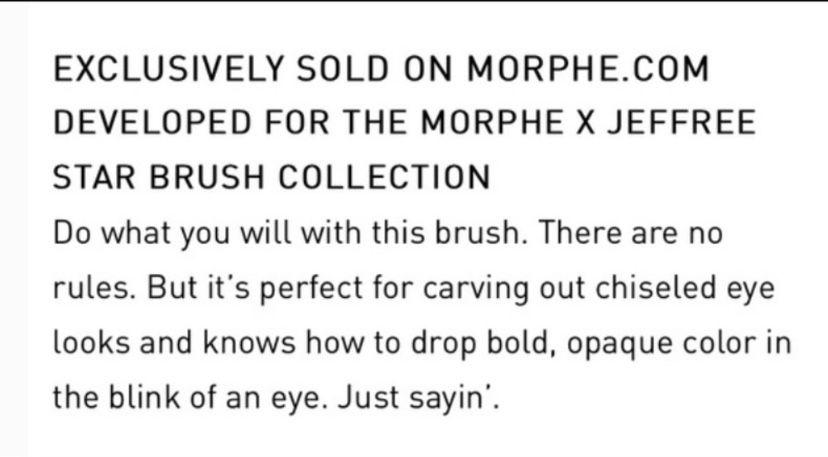Jeffree Star JS6 Rule Blender Brush