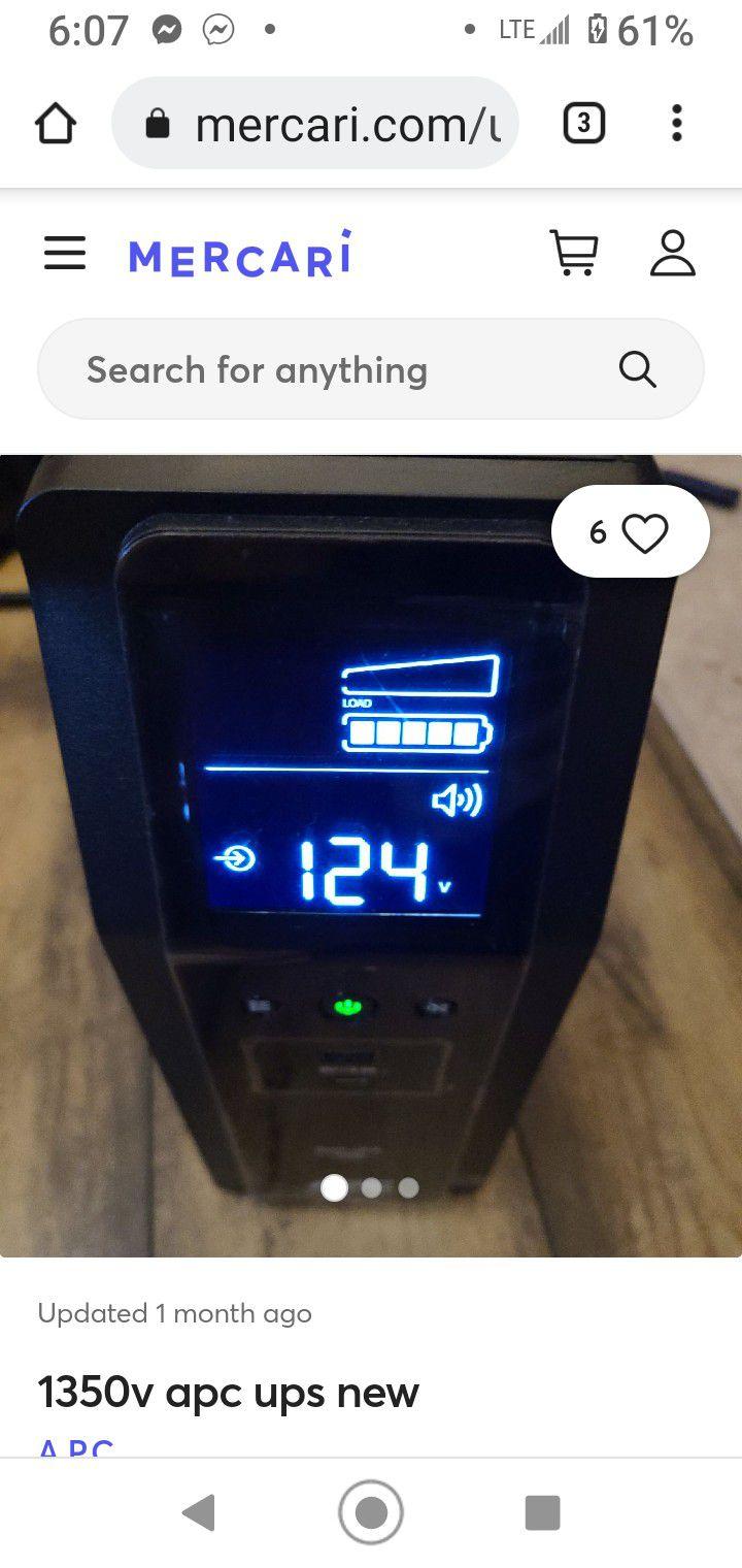 ACP  Electric Back-UPS Pro BR1500G
