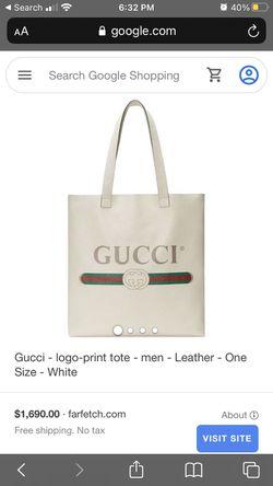 Gucci logo tote bag Thumbnail
