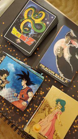 OLD Dragonball Z cards- Thumbnail