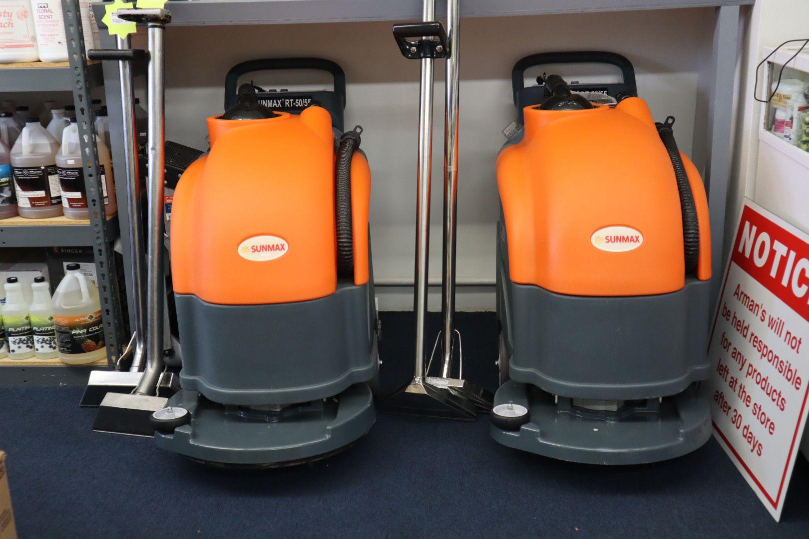 Sunmax 50/55 Battery Powered Floor Scrubber