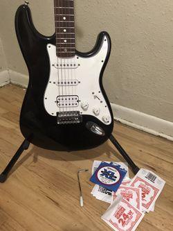 1998 Squier Stratocaster Guitar MIM HSS  Thumbnail