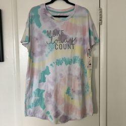NWT Tie Dye Nightgown  Thumbnail