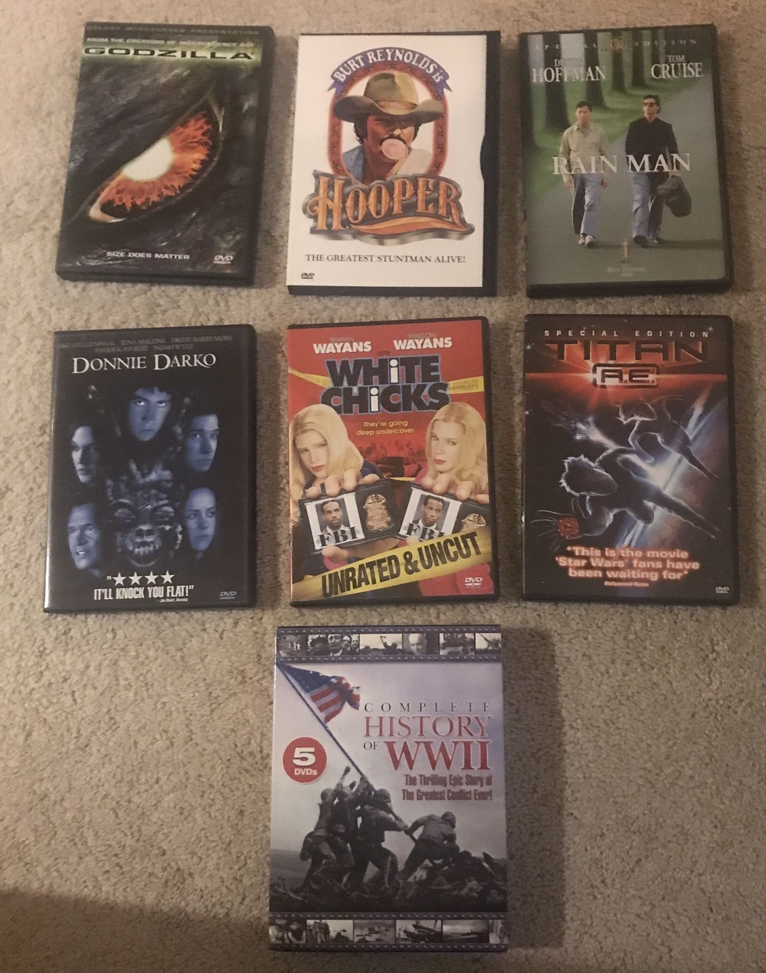 Collection Of 15+ DVDs