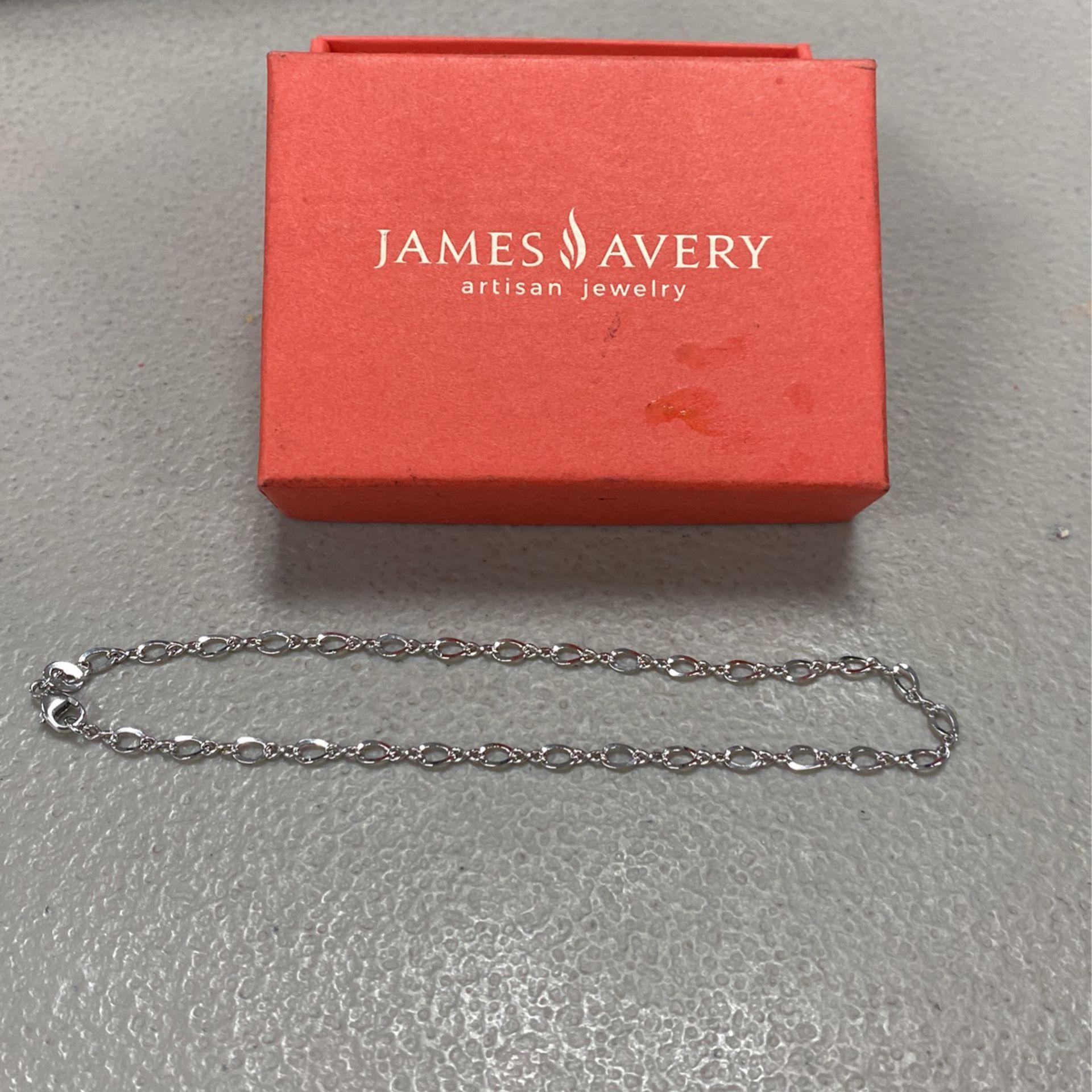 James Avery Medium Twist Anklet