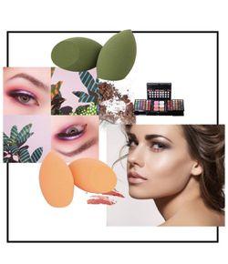Makeup Sponge with Dry Holder Beauty Sponge Blender Flawless Foundation for Liquid Cream and Powder (4+1Pcs) Thumbnail