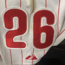 Phillies Chase Utley Jersey Thumbnail