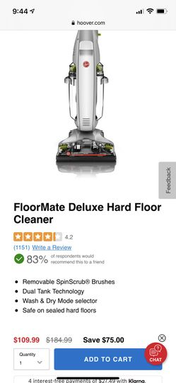 FloorMate Deluxe Hard Floor Cleaner Thumbnail