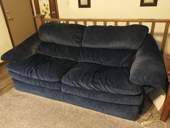 6 Piece Set.... Sofa And Love Seat And A Chair And Ottoman and 2 Lamps Thumbnail