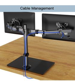 HUANUO Dual Monitor Stand - Free Standing Thumbnail