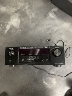 Denon Surround sound receiver and Bose speakers Thumbnail
