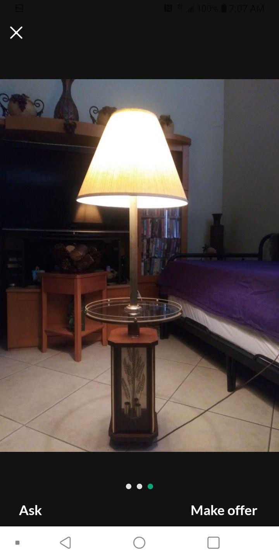 VINTAGE CANDALABRA LAMP