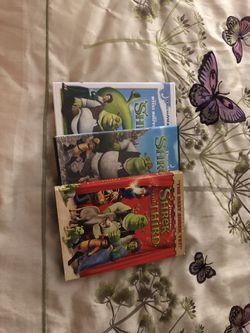 Shrek DVDs Thumbnail