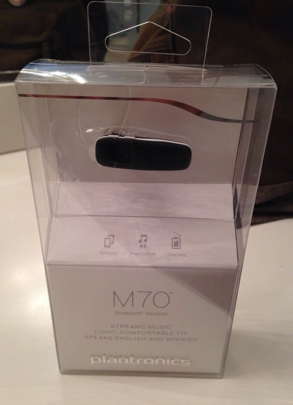 Bluetooth plantronics m70