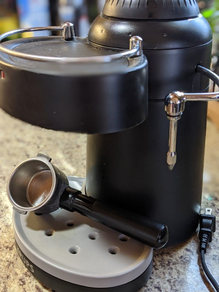 Krupps Espresso Maker and Milk Steamer