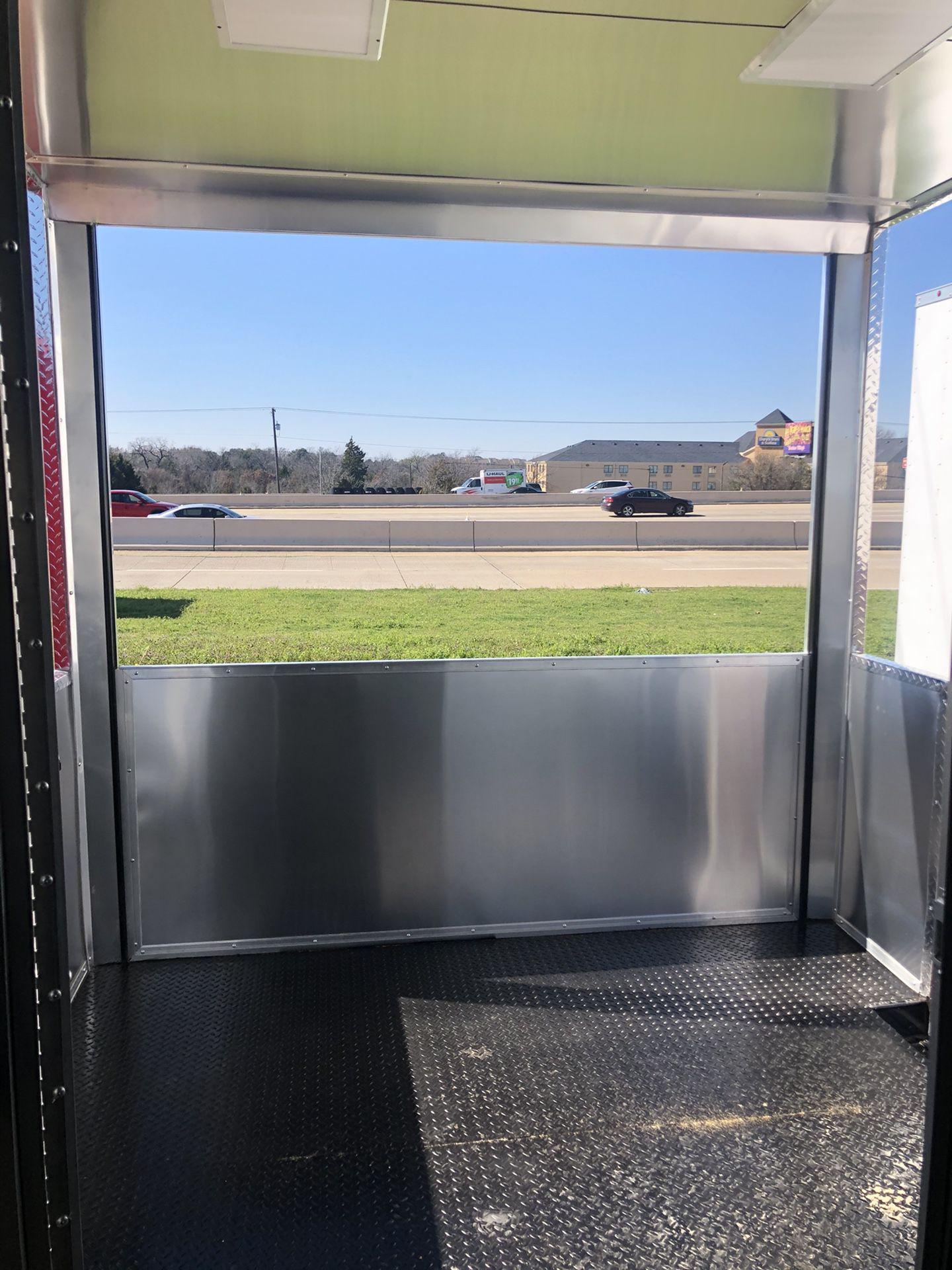 Bbq porch concession trailer w open porch 8.5x20