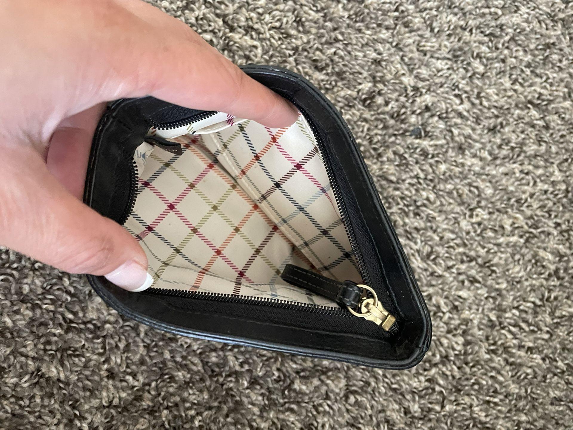 Black Coach Wallet Small