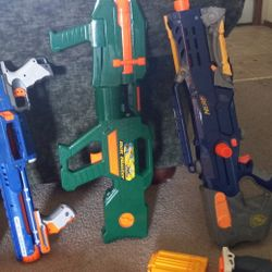 Old Nerf Guns, All For $25 Can Send More Pictures If Asked Thumbnail