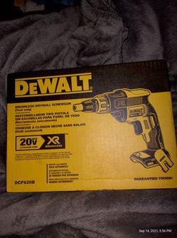 DeWalt Brushless Drywall Screw Gun 20v Tool Only Thumbnail