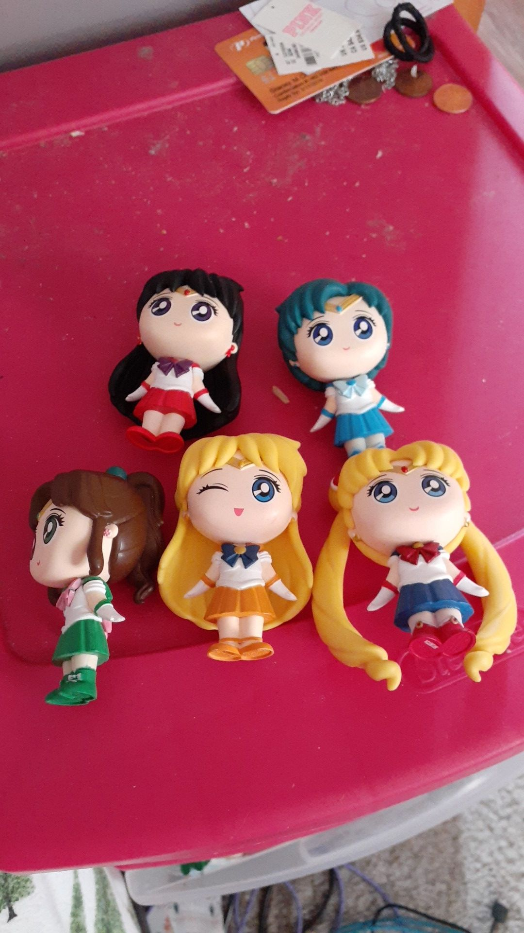 Sailor moon and the sailor scouts including rini