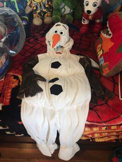Disney store Olaf costume Thumbnail