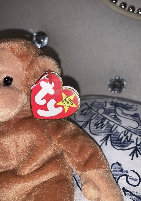 Ty Beanie Babies Bongo The Monkey