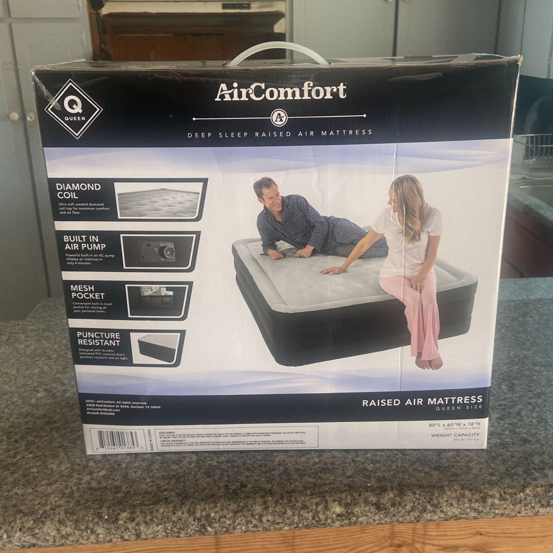 Air comfort Air mattress new Queen size