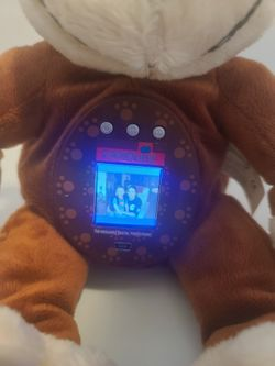 MONKEY Photokinz Huggable Digital Photo Frame Fun Loving Companion it do not come with the cable to connect to the PC Thumbnail
