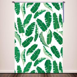 5x7ft Photography Backdrop Newborn Photo Props Baby Studio Props Photographer Photo Booth Banana palm leaves party Thumbnail