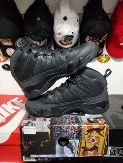 Air Jordan 9 Boot NRG 'Blk Concord' *Sz 12 USED* Thumbnail