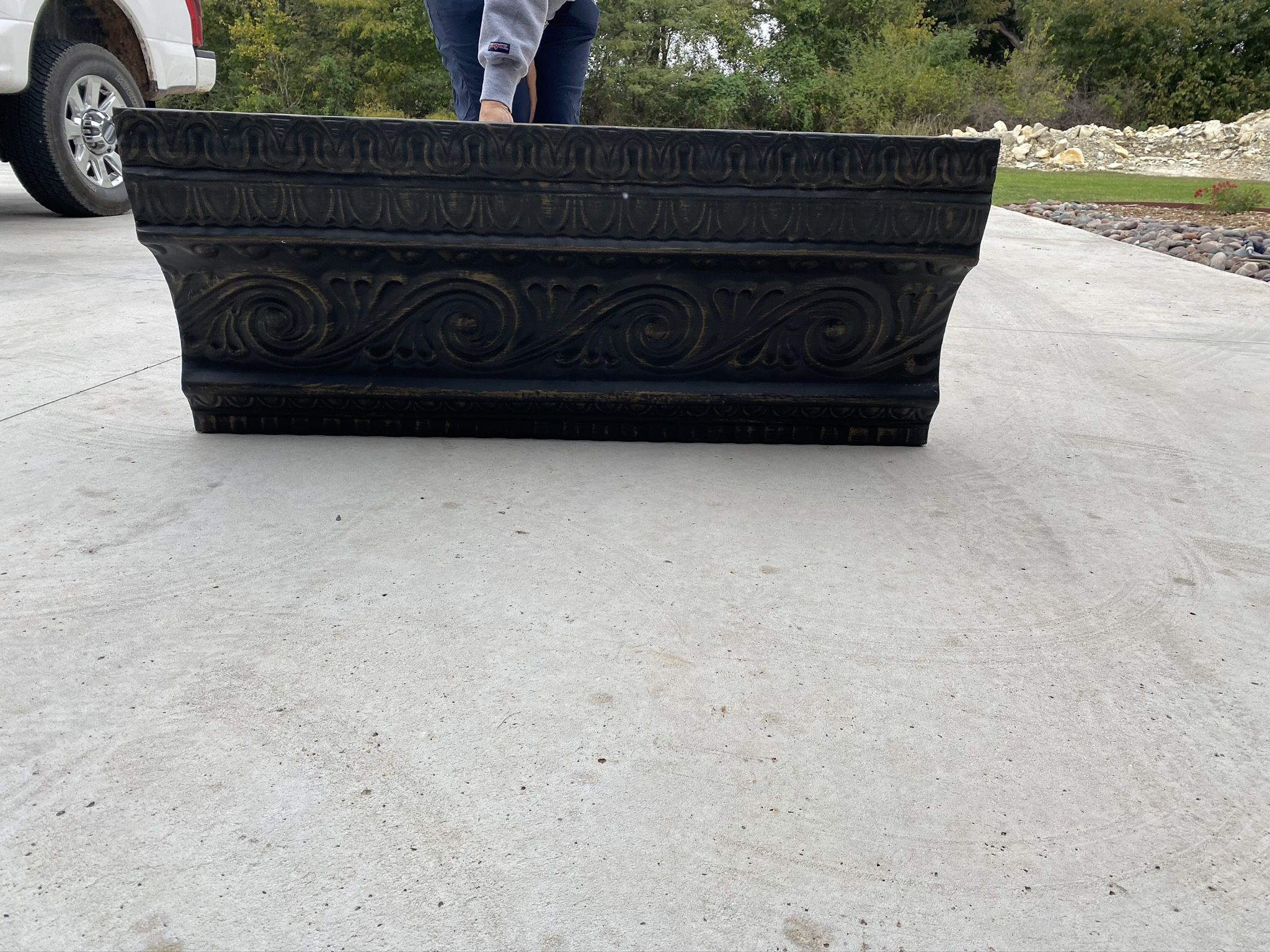 Metal Shelf/ Mantle