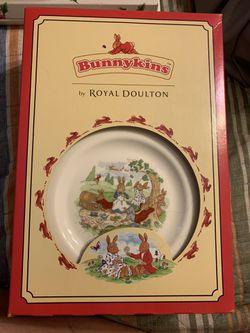 Royal Doulton Bunnykins Children's China Set Thumbnail